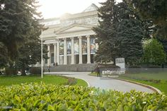 Pushkin State Museum of Fine Arts is the largest museum of European art in Moscow. It was founded in 1912. Moscow, Russia.