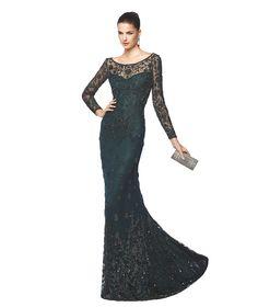 NELDA - Balık etekli kokteyl elbisesi. Pronovias 2015 | Pronovias