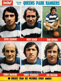 Football Pictorial back cover QPR - April 1973