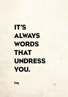 Soooo true (at least for me).  Watch out for those smooth talkers, unless you like things a little breezy.