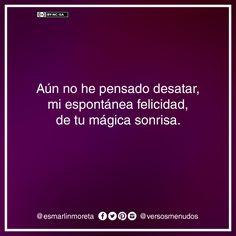 #esmarlinmoreta #versosmenudos #poesia #frase #amor #sonrisa