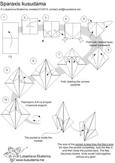 Diagram for Sparaxis kusudama