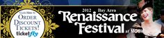 Welcome to the Bay Area Renaissance Festival at MOSI!