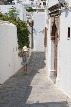 Lost in Lindos, Rhodes, Greece
