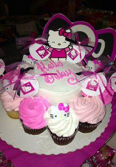 Cupcake Bites For Hello Kitty Baby Shower | Hello Kitty Baby Shower |  Pinterest | Babies, Showers And Cupcake