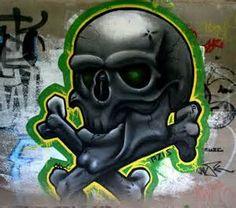skull tag