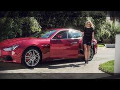 Maserati Range Photo Shooting with Genevieve Morton (The Making Of) - YouTube