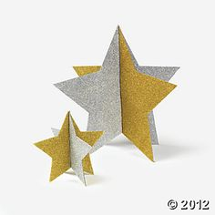 We could make glitter stars ourselves
