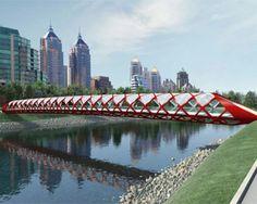 Santiago Calatrava Peace Bridge