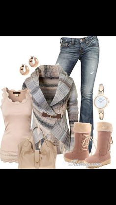Cute minus the ugg style boots