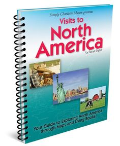 Visits to the North America geography notebook
