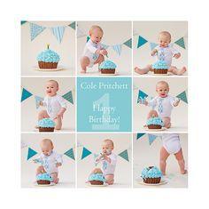 Boy 1st Birthday Smash Cake   First Birthday Cake Smash Photoshoot!
