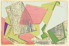 1950s Abstract Screenprint on OneKingsLane.com