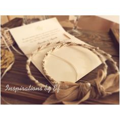 Χειροποίητα στέφανα γάμου - Handmade wedding crowns by InspirationsbyEf on Etsy