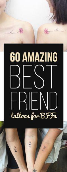 60 Amazing Best Friend Tattoos for BFFs
