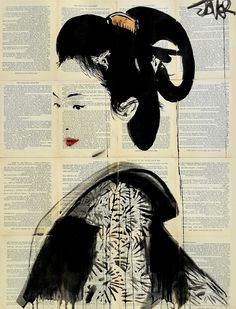"""itsumo"" by Loui Jover 