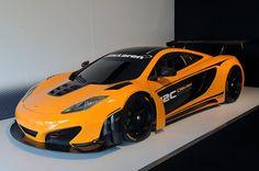 McLaren presenta el carro de carreras 12C Can-Am Edition