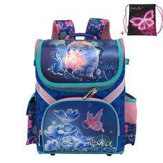 643e6d3a23f2 JASMINESTAR Children Backpack School Bag New Grade 1-3-5 Student Girls  Butterfly Flower Kids Orthopedic School Bags For Girls