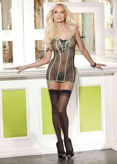 Lace Up Fishnet Lingerie sexy lingerie - http://eroticfantasywear.com/lace-up-fishnet-lingerie-sexy-lingerie/
