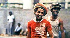Bob Marley in Zimbabwe, April 1980.