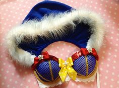 Snow White light up bra with hoodie. $150. lilkittyko on Etsy.