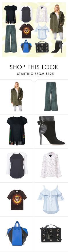 """""""My Style Statement"""" by justinallison ❤ liked on Polyvore featuring Vince, ADAM, Sacai, Jimmy Choo, RE/DONE, R13, Gucci, Veronica Beard, Loewe and Mark Cross"""
