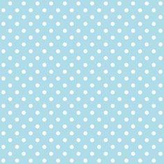 Free digital polka dot scrapbooking paper: baby blue - Pünktchenpapier - freebie | MeinLilaPark – DIY printables and downloads