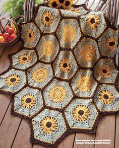 sunflowers crochet | this image courtesy of www crochet world com crochet hook