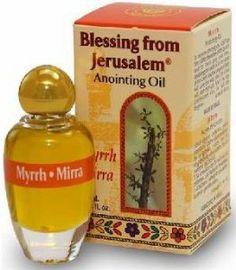 Anoint Oil Myrrh 10 mL by Blessing from Jerusalem. $7.50