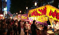 The fantastic feast of festival food in Japan