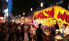 The fantastic feast of festival food in Japan