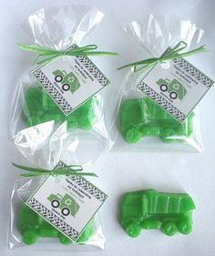 20 Dump Truck Soap Favors by brownbagbathbars on Etsy, $20.00