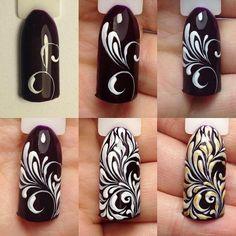 Image result for вензеля на ногтях