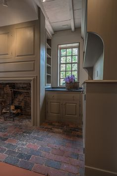 The Richard Holman house is a historic home that sits in the heart of a seaside village in Massachusetts. The house was badly neglected, but Jim Laverdiere of Fine Period Homes was determined to restore it inside and out to all of its period glory. Our part in the project was the kitchen, the adjoining..