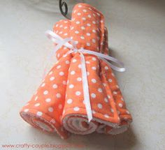 crafty couple: Diy Easy Burp Cloths