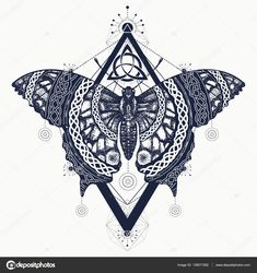 depositphotos_138071082-stock-illustration-butterfly-tattoo-art-celtic-style.jpg (1600×1700)