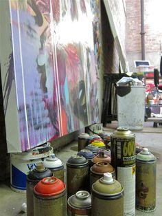 Conor Harrington Studio Visit Dead Meat AM 05