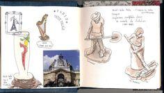 Urban Sketching - Pen & Watercolor by Rita Caré