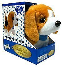 1990 Now 145941 Barney The Beagle Puppy Walking Barking Dog
