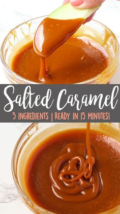This Easy Homemade Salted Caramel recipe is creamy enough to use as a sauce when warmed, and chewy enough to use in desserts when cooled. Try it in our Pretzel Oreo Balls! Click for the full detailed recipe and video! #saltedcaramel #caramel #caramelsauce #dessertrecipeseasy #dessertideas #desserteasy Salted Caramel Sauce, Yummy Food, Yummy Treats, Yummy Recipes, Sweet Treats, Caramel Recipes, Holiday Recipes, Party Recipes, Deserts