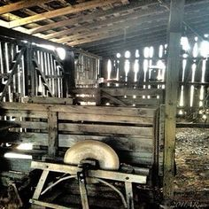Inside the mysteries of a closed barn. ©AReese2015