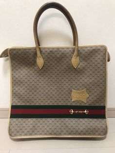 Gucci vintage black tote   shopper bag  satchel  135d92bcfe722