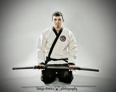 Warren » Martial arts, Karate, Jiu Jitsu, fighting pictures, black belt, sports photography, katana, sports portraits, Tanya Downs Photography