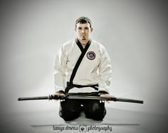 Warren » Martial arts, Karate, Jiu Jitsu, fighting pictures, black belt, sports photography, katana, sports portraits, Tanya Downs Photography