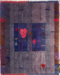 Uskothan keijuihin,  Norma Heimola Rya Rug, Wool Rug, Rugs On Carpet, Carpets, Tapestry Weaving, Soft Furnishings, Quilts, Blanket, Wall Hangings