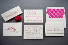 Save-the-Dates from Gus & Ruby