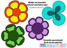molde de flores de eva