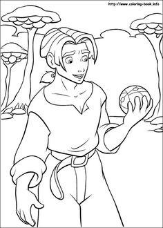 Treasure Planet coloring picture