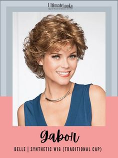 All over layering combines with slightly textured ends in the back to turn this classic, short cut into a contemporary silhouette. #hairstyles #hairdo #hairoftheday #styleinspo #styles Short Wigs, Short Curly Hair, Short Hair Cuts, Curly Hair Styles, Natural Hair Styles, Short Hairstyles For Women, Bob Hairstyles, Wedding Hairstyles, Haircuts