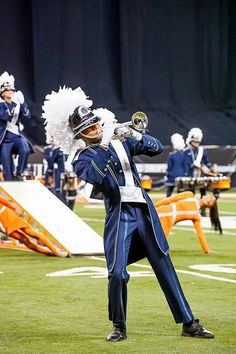 2014 Bluecoats. The Blue Way is the only way ;D Trumpet :D